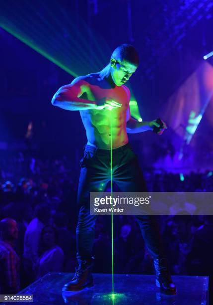 Dancer performs onstage during the 2018 DIRECTV NOW Super Saturday Night Concert at NOMADIC LIVE at The Armory on February 3 2018 in Minneapolis...