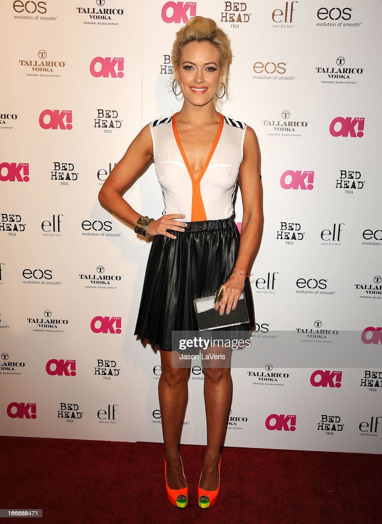Dancer Peta Murgatroyd attends OK! Magazine's annual 'So Sexy' party at SkyBar at the Mondrian Los Angeles on April 17, 2013 in West Hollywood, California.