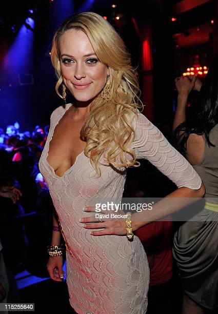 Dancer Peta Murgatroyd attends Tao Nightclub at the Venetian Resort Hotel Casino on June 4 2011 in Las Vegas Nevada