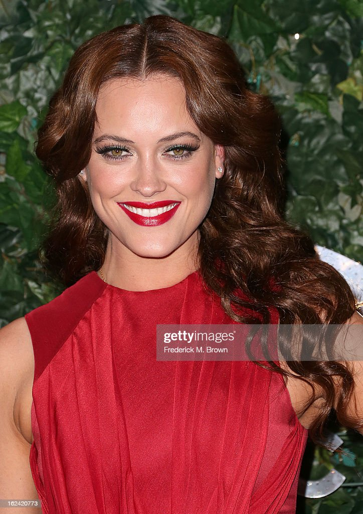 Dancer Peta Murgatroyd attends the QVC Red Carpet Style Event, at the Four Seasons Hotel Los Angeles on February 22, 2013 in Beverly Hills, California.