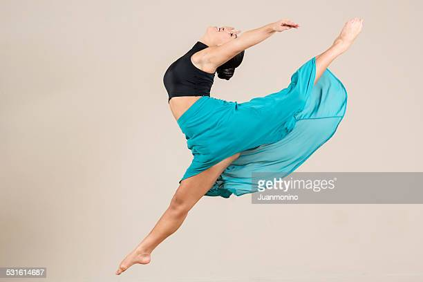 dancer - beautiful chinese girls stock photos and pictures