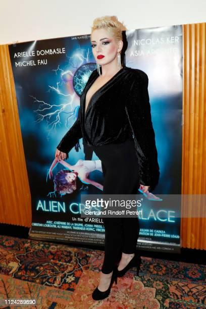 "Dancer Pika Matador attends ""Alien Crystal Palace"" Paris Premiere at Cinema Etoile St Germain on January 23, 2019 in Paris, France."
