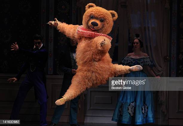 Dancer Robert Kretz in the role of the Bear during the Boston Ballet's production of The Nutrcracker at the Boston Opera House on opening night on...