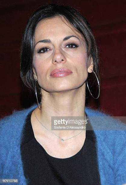 Dancer Rossella Brescia attends 'Carmen' Photocall on November 9 2009 in Milan Italy