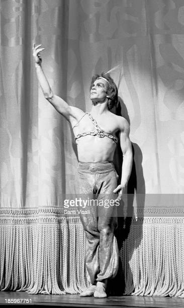 Dancer Rudolf Nureyev on Stage on May 231969 in New York New York