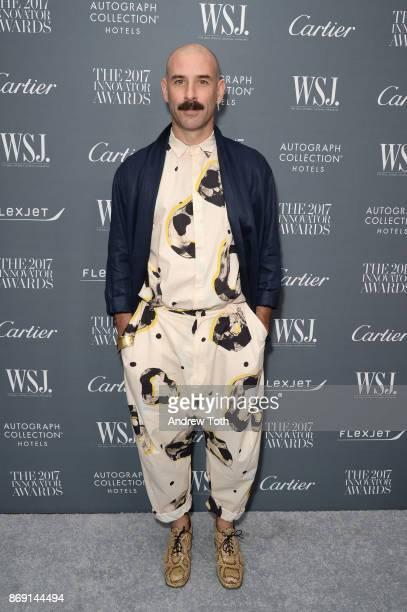 Dancer Ryan Heffington attends the WSJ. Magazine 2017 Innovator Awards at MOMA on November 1, 2017 in New York City.