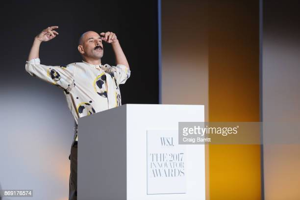 Dancer Ryan Heffington performs onstage during the WSJ. Magazine 2017 Innovator Awards at MOMA on November 1, 2017 in New York City.