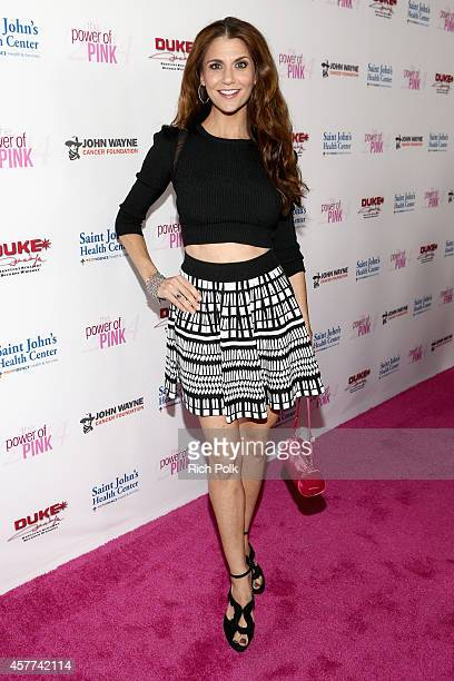 Dancer Samantha Harris attends Power of Pink 2014 Benefiting the Cancer Prevention Program at Saint John's Health Center at House of Blues Sunset...
