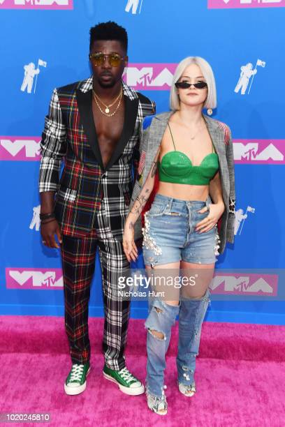 Dancer Sara Biv attends the 2018 MTV Video Music Awards at Radio City Music Hall on August 20 2018 in New York City