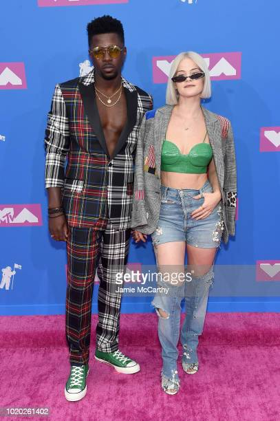 Dancer Sara Biv attends the 2018 MTV Video Music Awards at Radio City Music Hall on August 20, 2018 in New York City.