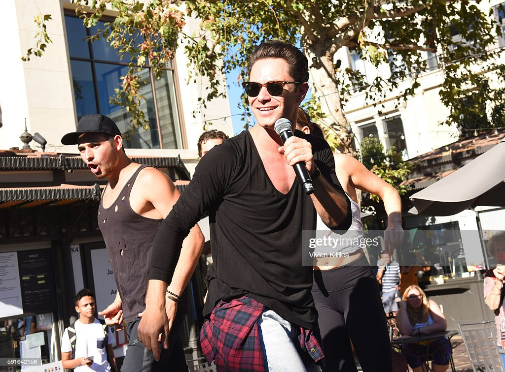 Dancer Sasha Farber attends The Grove Hosts Dancing With The