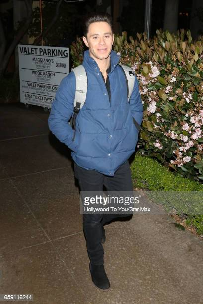 Dancer Sasha Farber is seen on March 27 2017 in Los Angeles California