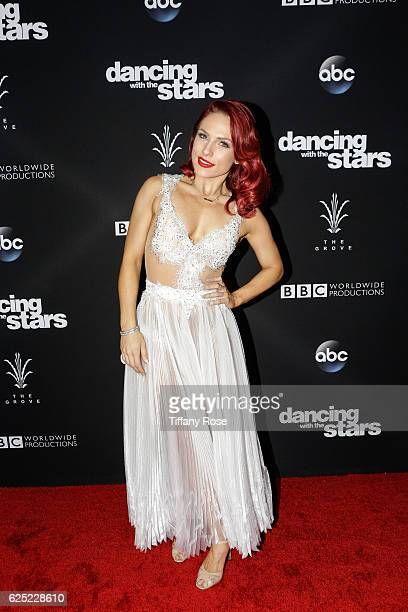 Dancer Sharna Burgess attends the 'Dancing With The Stars' live finale at The Grove on November 22 2016 in Los Angeles California
