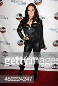 Dancer Sharna Burgess attends the 'Dancing With The Stars' wrap party at Sofitel Hotel on November 26 2013 in Los Angeles California