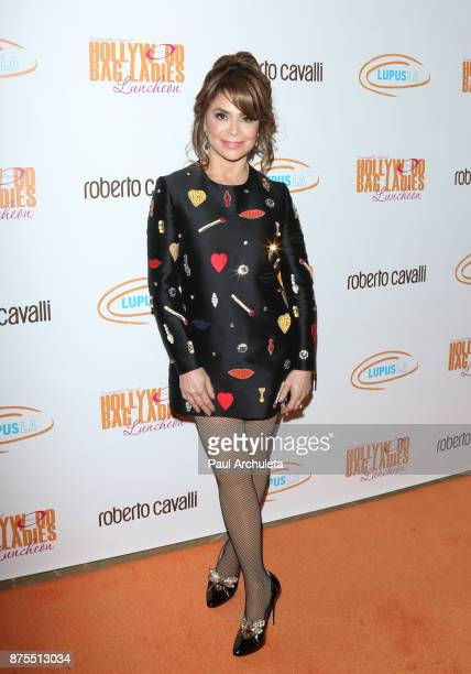 Dancer / Singer / TV Personality Paula Abdul attends the Lupus LA 15th annual Hollywood Bag Ladies Lunch at The Beverly Hilton Hotel on November 17...