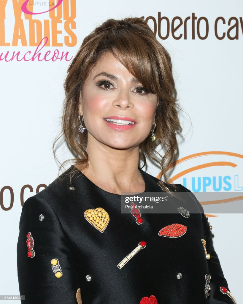 Dancer / Singer / TV Personality Paula Abdul attends the Lupus LA 15th annual Hollywood Bag Ladies Lunch at The Beverly Hilton Hotel on November 17, 2017 in Beverly Hills, California.