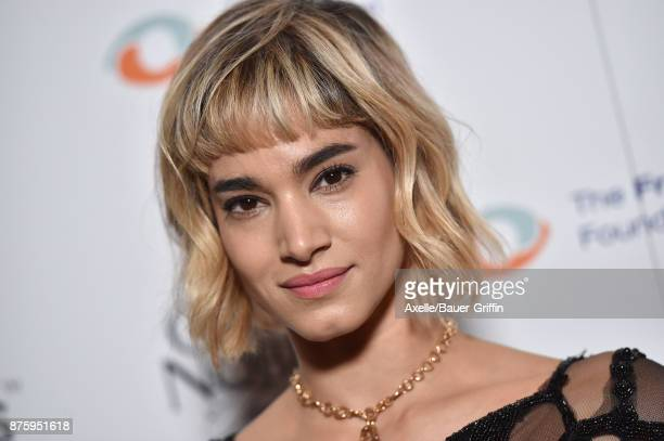 Dancer Sofia Boutella arrives at the inaugural Los Angeles gala dinner in support of The Fred Hollows Foundation at DREAM Hollywood on November 15...