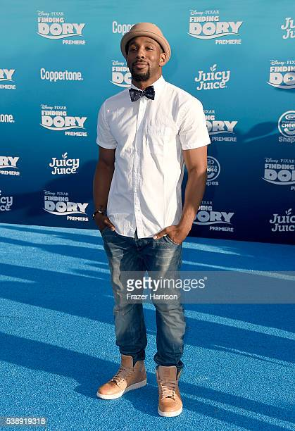 Dancer Stephen tWitch Boss attends the world premiere of DisneyPixar's 'Finding Dory' at the El Capitan Theatre on June 8 2016 in Hollywood California