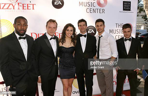 "Dancer Stephen 'tWitch' Boss, BalletBoyz Michael Nunn of Ovation's ""A Chance To Dance"", dancer Kathryn McCormick, BalletBoyz William Trevitt of..."