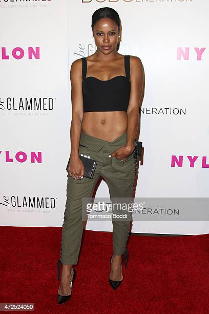 Dancer Taylour Paige attends the NYLON Magazine And BCBGeneration Annual May Young Hollywood Issue Party held at HYDE Sunset Kitchen Cocktails on May...