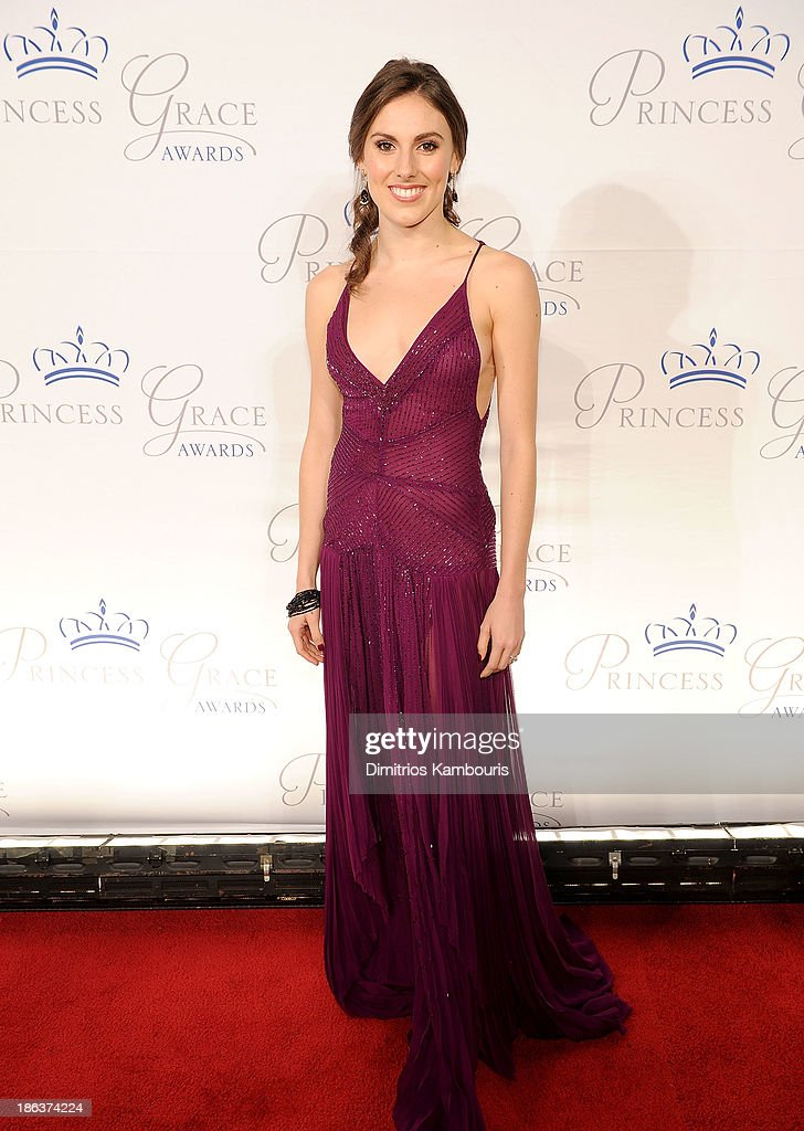 Dancer Tiler Peck attends the 2013 Princess Grace Awards Gala at Cipriani 42nd Street on October 30, 2013 in New York City.