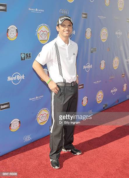Dancer Tony Dovolani arrives at the Third Annual George Lopez Celebrity Golf Classic at the Lakeside Golf Club on May 3, 2010 in Toluca Lake,...