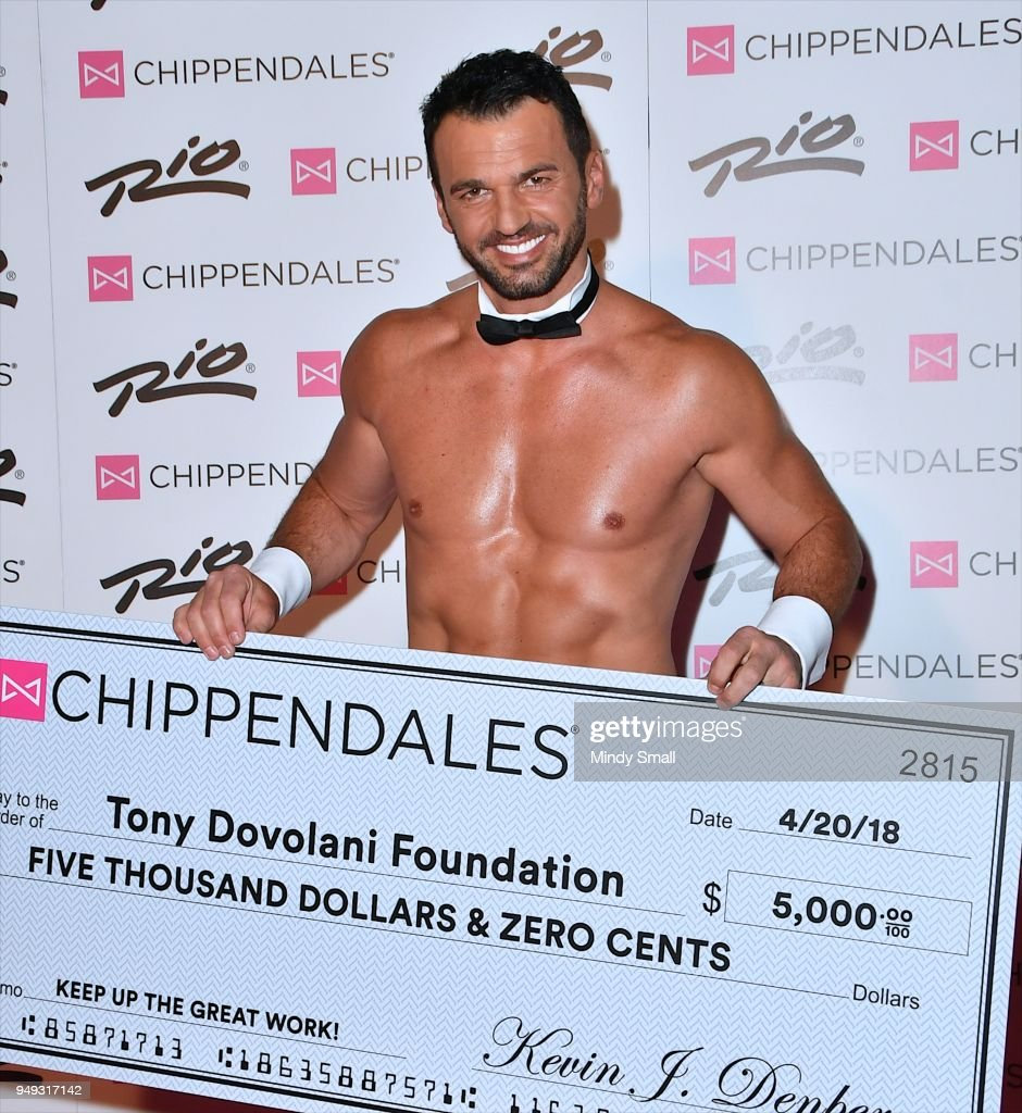 Tony Dovolani Begins Guest Host In Residency With The Chippendales In Las Vegas