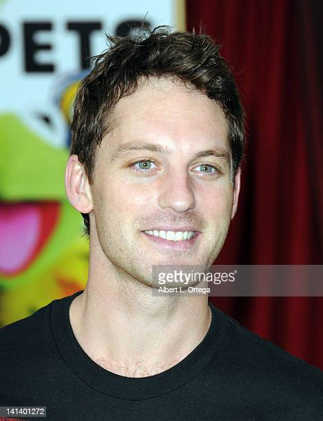 Dancer Tristan Macmanus arrives for 'The Muppet' Los Angeles Premiere held at the El Capitan Theatre on November 12 2011 in Hollywood California