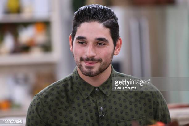 Dancer / TV Personality Alan Bersten visits Hallmark's Home Family at Universal Studios Hollywood on October 12 2018 in Universal City California