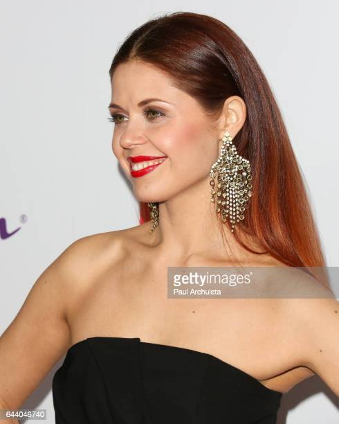 Dancer / TV Personality Anna Trebunskaya attends OK! Magazine's annual pre-Oscar event at Nightingale Plaza on February 22, 2017 in Los Angeles,...