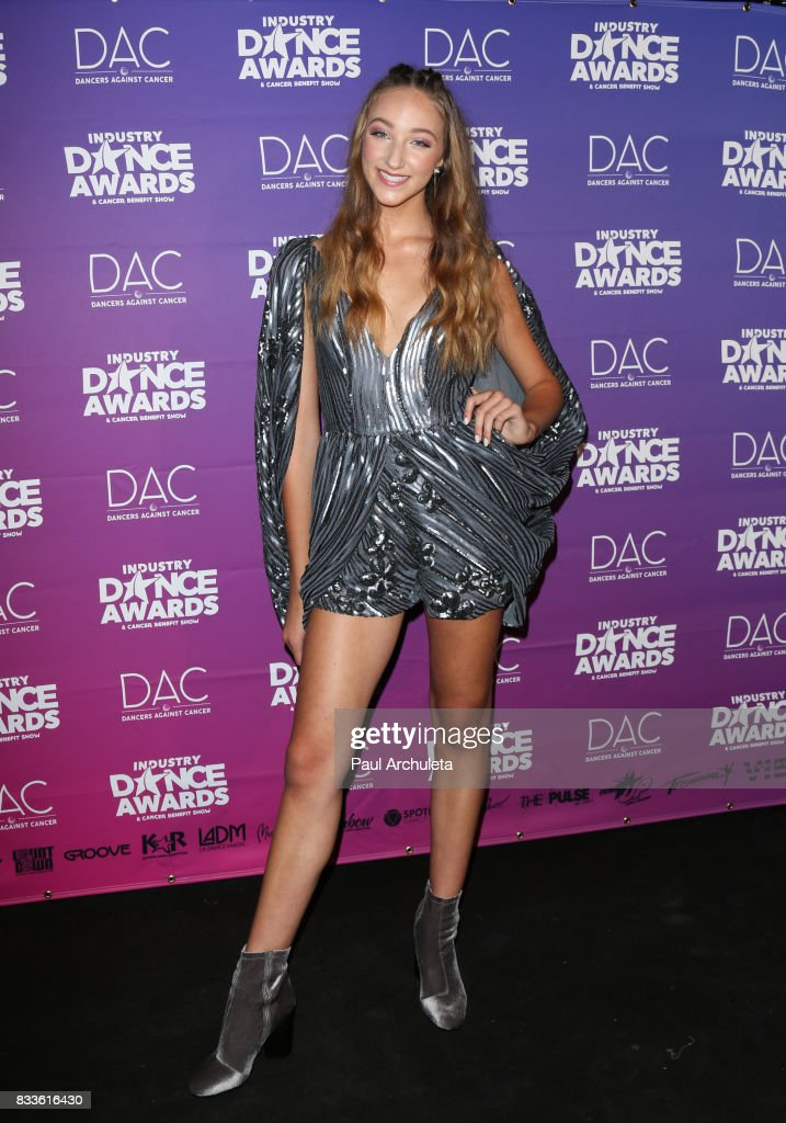 Dancer / TV Personality Ava Cota attends the 2017 Industry Dance Awards and Cancer Benefit show at Avalon on August 16, 2017 in Hollywood, California.