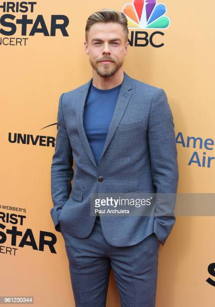 Dancer / TV Personality Derek Hough attends NBC's 'Jesus Christ Superstar Live In Concert' FYC event at the Egyptian Theatre on May 21 2018 in...