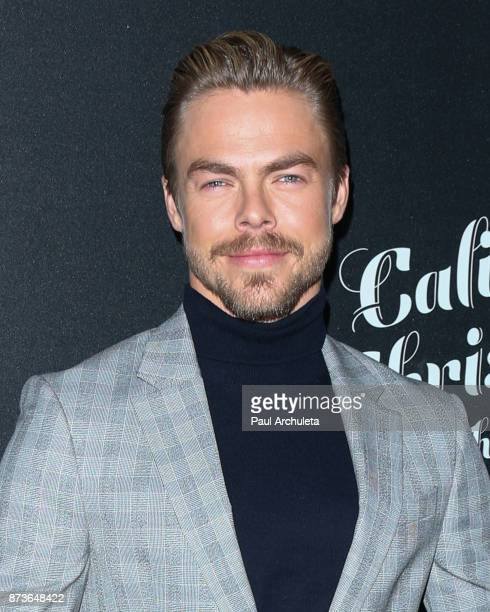 Dancer / TV Personality Derek Hough attends the California Christmas At The Grove at the Grove on November 12 2017 in Los Angeles California