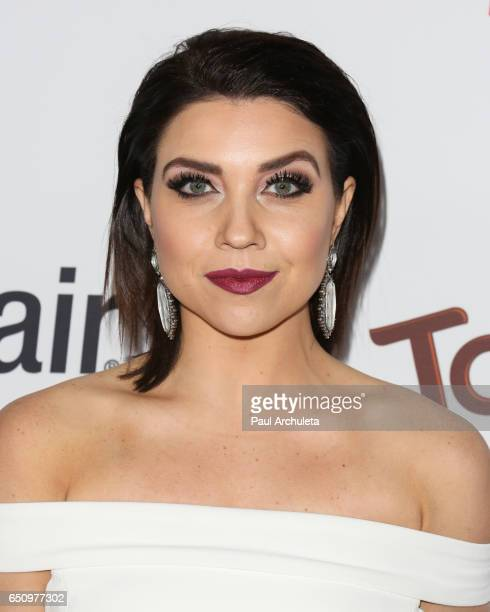 Dancer / TV Personality Jenna Johnson attends OK Magazine's annual preOscar event at Nightingale Plaza on February 22 2017 in Los Angeles California