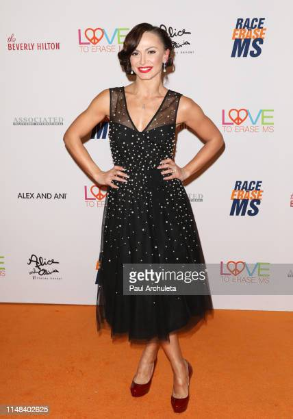 Dancer / TV Personality Karina Smirnoff attends the 26th annual Race To Erase MS Gala at The Beverly Hilton Hotel on May 10 2019 in Beverly Hills...
