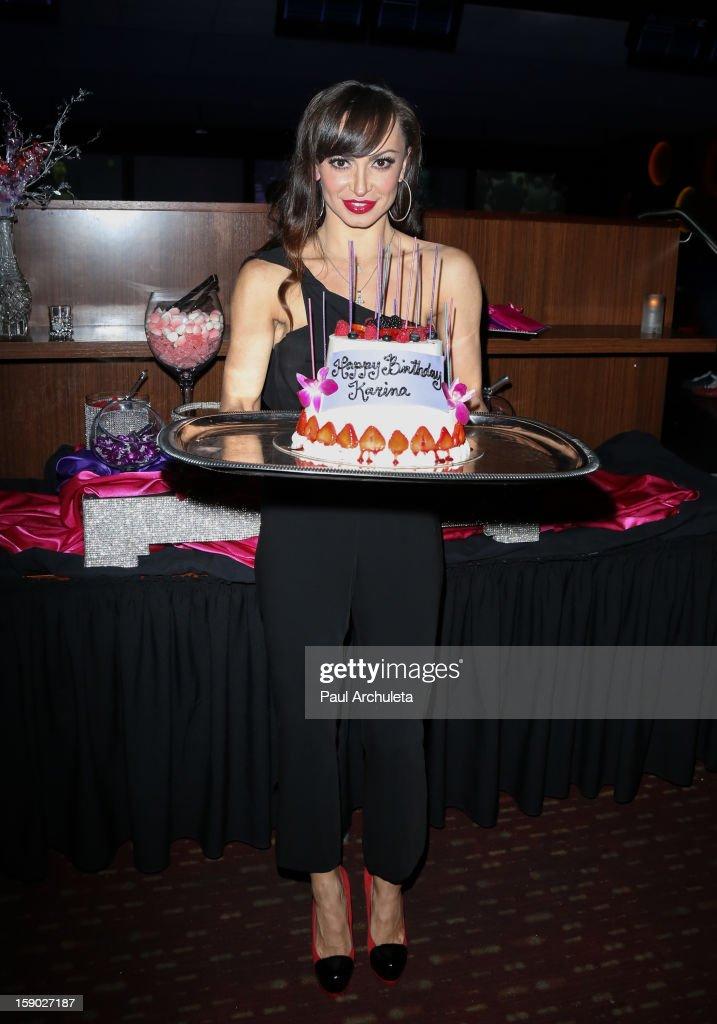 Karina Smirnoff Celebrate Her 35th Birthday Photos And Images