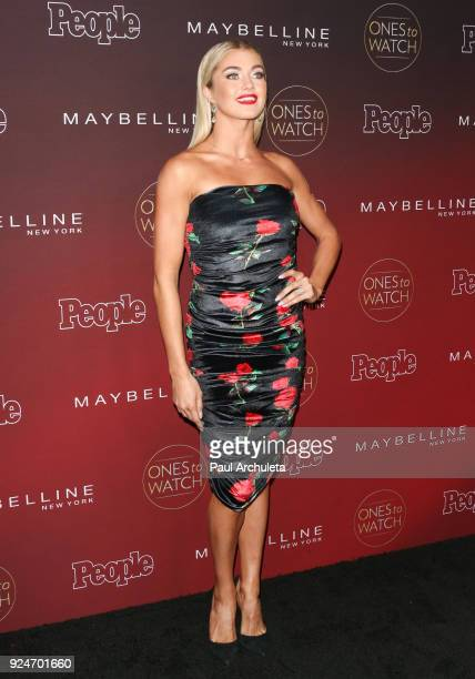Dancer / TV Personality Lindsay Arnold attends People's 'Ones To Watch' party at NeueHouse Hollywood on October 4 2017 in Los Angeles California