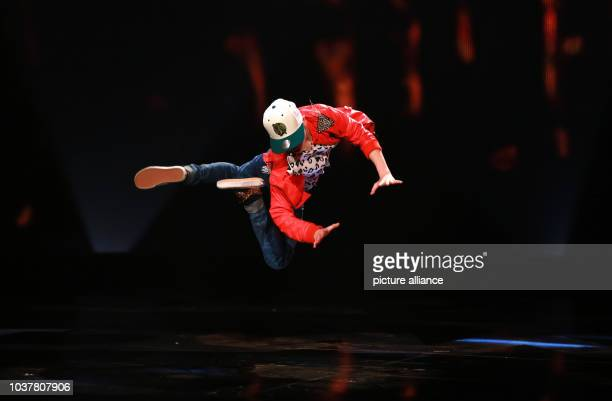 Dancer Vadim stands onstage during the finale of TV show 'Got to dance' at the Coloneum in Cologne, Germany, 05 July 2013. Photo: ROLF VENNENBERND |...