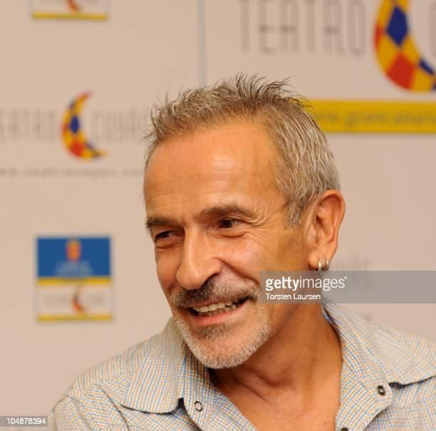 Dancer Victor Ullate attends a El Arte de la Danza' press conference in Las Palmas on October 6 2010 in Las Palmas de Gran Canaria Spain