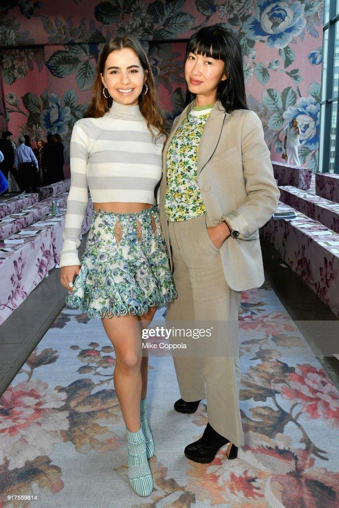 Dancer Violetta Komyshan and DJ Mimi Xu during