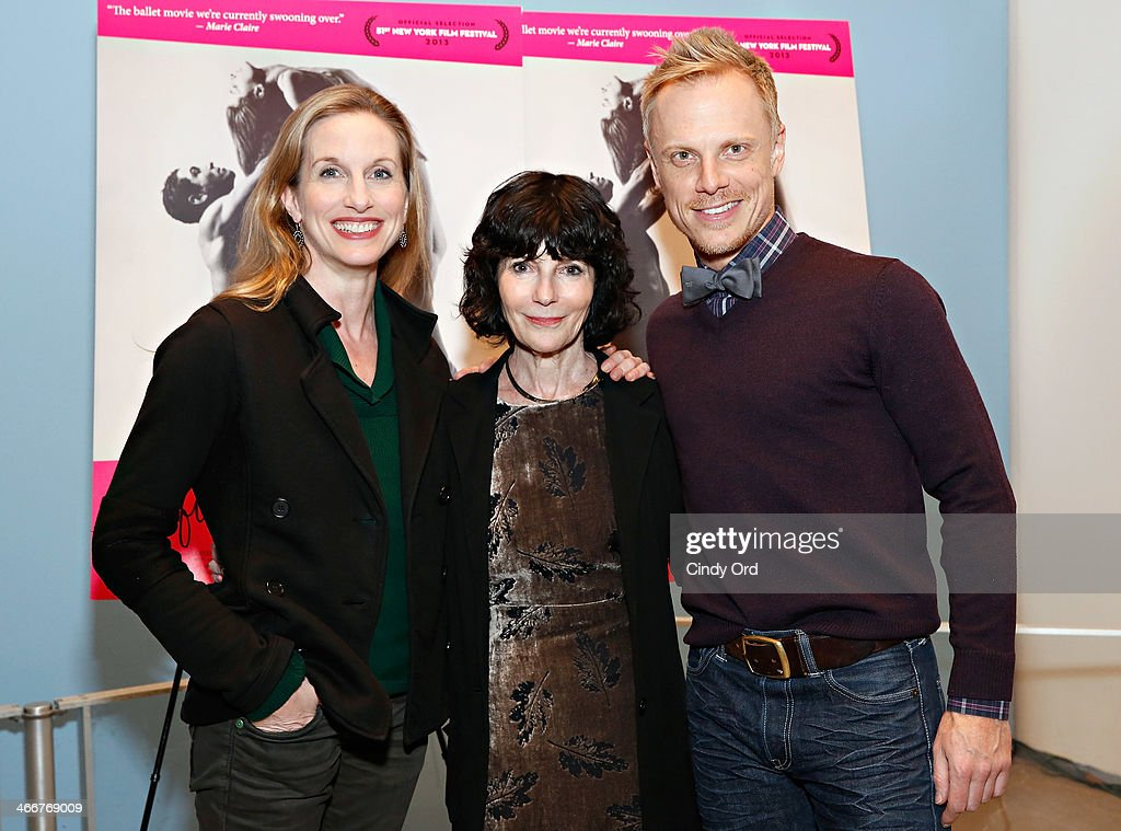 Dancer Wendy Whelan, director Nancy Buirski and dancer Michael Trusnovec attend the 'Afternoon Of A Faun' screening on February 3, 2014 in New York City.