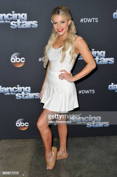 Dancer Witney Carson ABC's 'Dancing With The Stars Athletes' Season 26 show on May 7 2018 in Los Angeles California