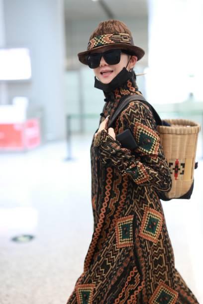 CHN: Yang Liping Sightings In Shanghai