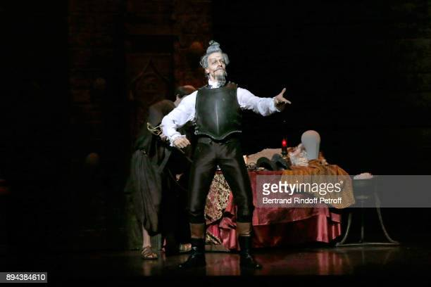 Dancer Yann Chailloux performs in 'Don Quichotte' during the 32th 'Reve d'Enfants' Charity Gala at Opera Bastille on December 17 2017 in Paris France