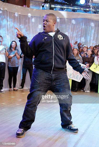 Dancer/actor Kyle Massey visits Good Morning America at ABC Studios on November 24 2010 in New York City