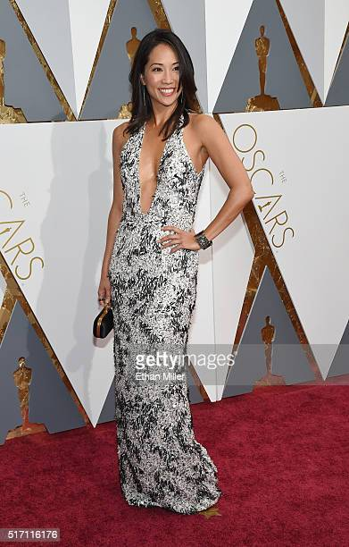 Dancer/actress Diane Mizota attends the 88th Annual Academy Awards at Hollywood Highland Center on February 28 2016 in Hollywood California