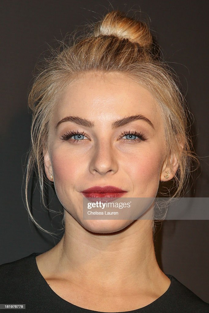 Dancer/actress Julianne Hough attends ESCADA and W Magazine's celebration of Cool Earth with hosts Daniel Wingate, Suzanne Todd and Jennifer Todd at Escada Boutique on September 26, 2013 in Beverly Hills, California.