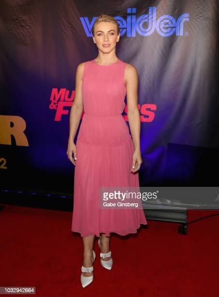 Dancer/actress Julianne Hough attends Freestyle Releasing's world premiere of Bigger at the Orleans Arena on September 13 2018 in Las Vegas Nevada