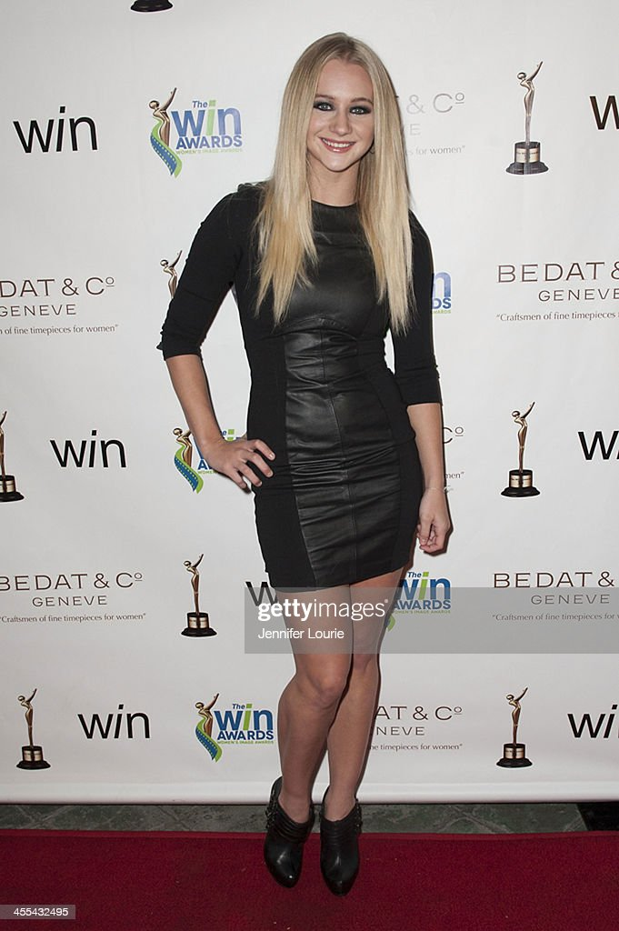 Dancer/actress Mollee Gray arrives at the annual 2013 Women's Image Awards at Santa Monica Bay Woman's Club on December 11, 2013 in Santa Monica, California.