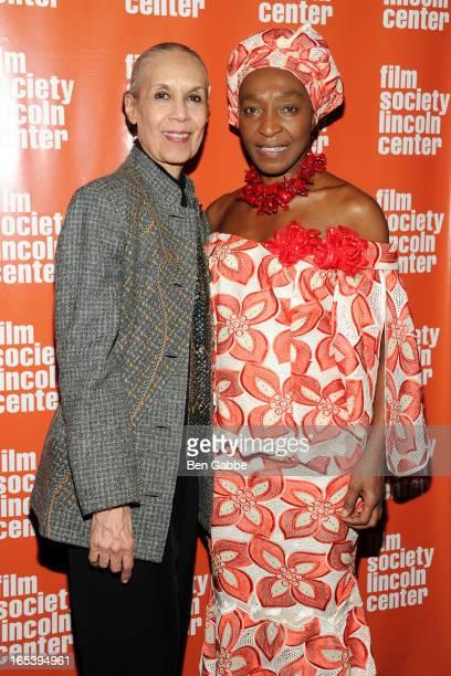 Dancer/choreographer Carmen De Lavallade and Founder of New York African Film Festival Mahen Bonetti attend 20th New York African Film Festival...